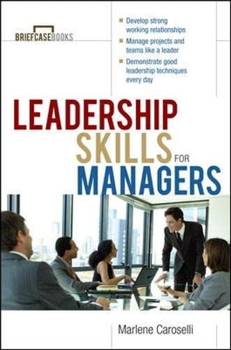 9780071364300: Leadership Skills for Managers