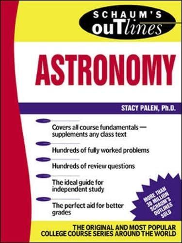9780071364362: Schaum's Outline of Astronomy (Schaums' Outline Series)