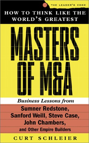 9780071364416: How to Think Like the World's Greatest Masters of M & A