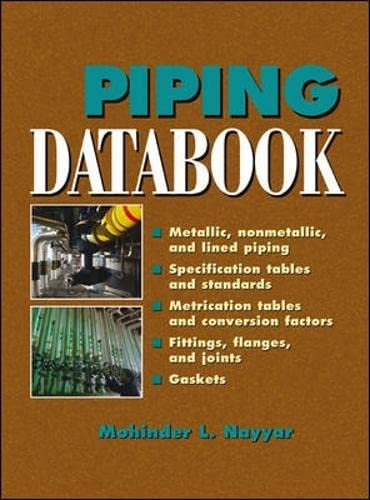 9780071364515: Piping Databook