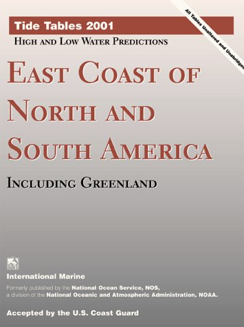 9780071364614: Tide Tables East Coast of North and South America, Including Greenland (Tide Tables: East Coast of North & South America, Including Greenland)