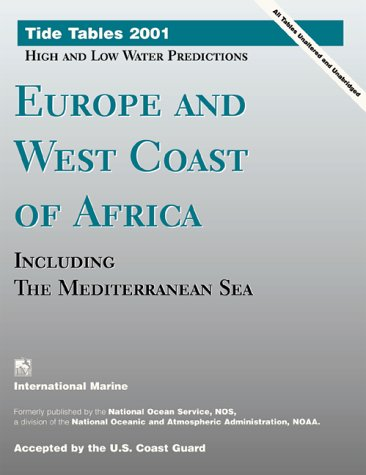 9780071364621: Tide Tables 2001: Europe and West Coast of Africa
