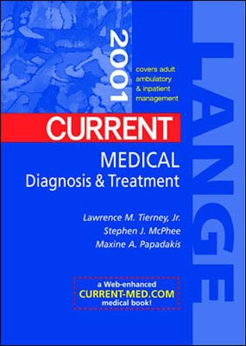 9780071364669: Current Medical Diagnosis and Treatment 2001