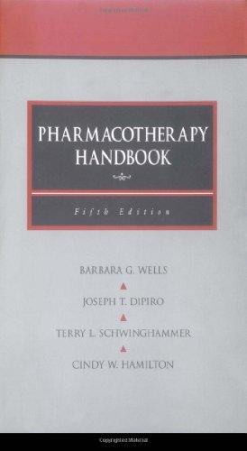 9780071364751: Pharmacotherapy Handbook
