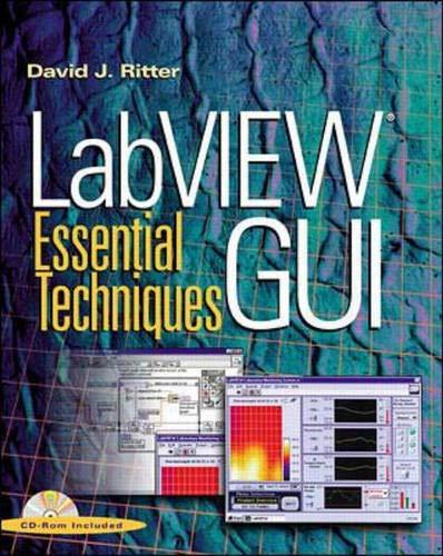 9780071364935: Labview Gui: Essential Techniques