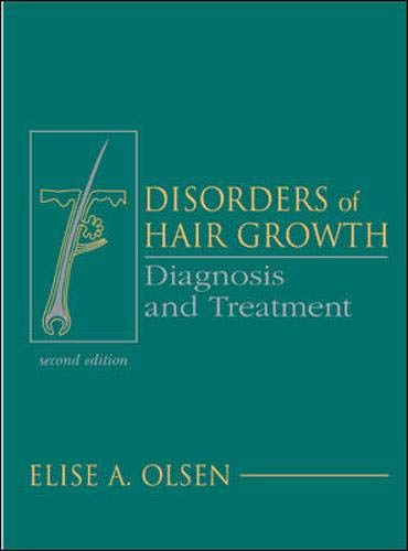 9780071364942: Disorders of Hair Growth: Diagnosis and Treatment