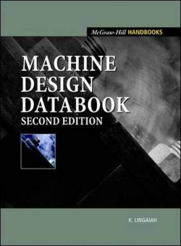 9780071367073: Machine Design Databook