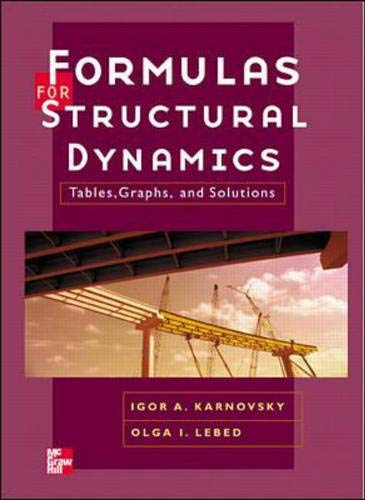 Formulas for Structural Dynamics: Tables, Graphs and: Karnovsky, I. A.,