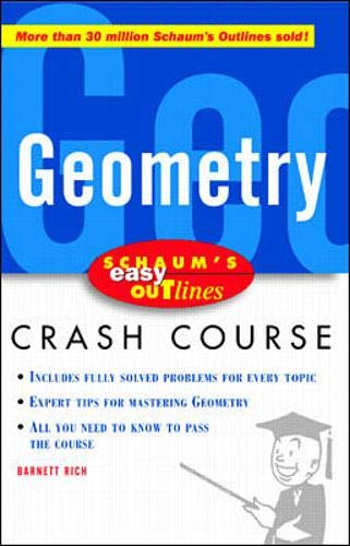9780071369732: Schaum's Easy Outline of Geometry: Based on Schaum's Outline of Theory and Problems of Geometry (Schaum's Easy Outlines)