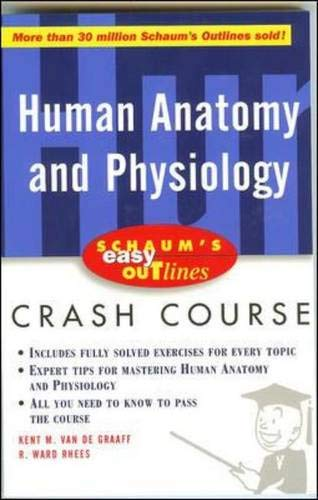 9780071369763: Schaum's Outline of Human Anatomy and Physiology