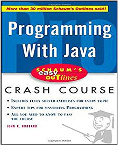 9780071369770: Schaum's Easy Outline of Programming with Java (Schaum's Easy Outlines)