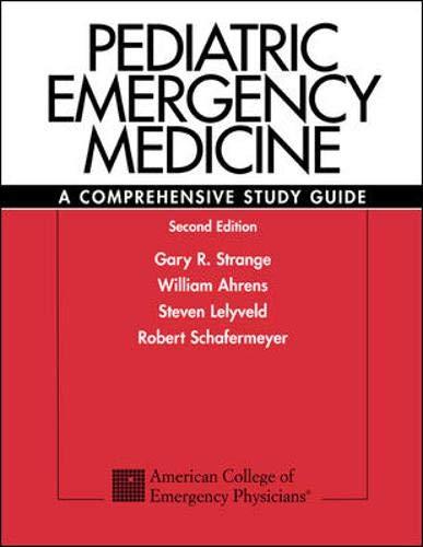 9780071369794: Pediatric Emergency Medicine: A Comprehensive Study Guide