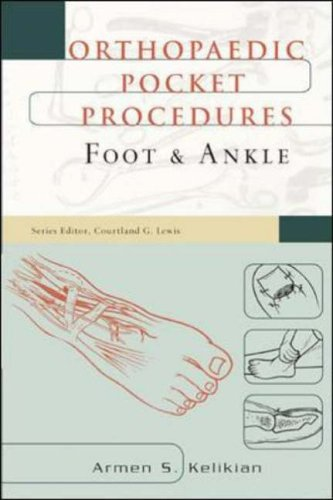 9780071369909: Orthopaedic Pocket Procedures: Foot & Ankle: Foot and Ankle (Orthopeadic pocket procedures)