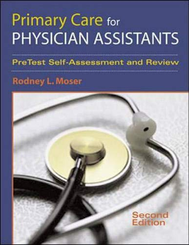 9780071370158: Primary Care for Physician Assistants: Self-Assessment and Review