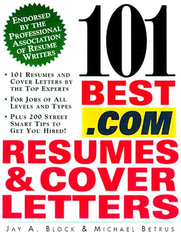 9780071370448: 101 Best .Com Resumes & Cover Letters