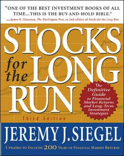 9780071370486: Stocks for the Long Run : The Definitive Guide to Financial Market Returns and Long-Term Investment Strategies