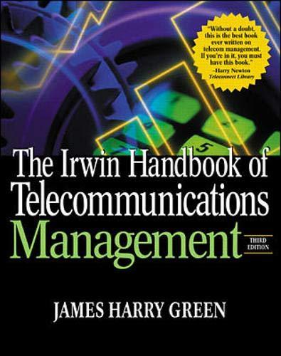 9780071370585: The Irwin Handbook of Telecommunications Management