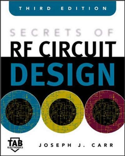 Secrets of RF Circuit Design (9780071370677) by Joseph Carr