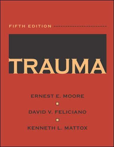 9780071370691: Trauma (Trauma (Moore))