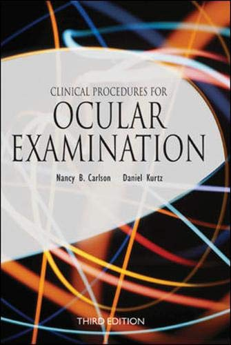 9780071370783: Clinical Procedures for Ocular Examination, Third Edition