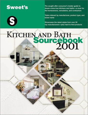 9780071370899: Sweet's Kitchen and Bath Sourcebook 2001