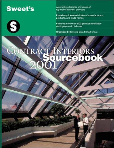 9780071370905: Sweet's Contract Interiors Sourcebook 2001