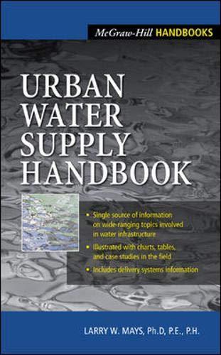 9780071371605: Urban Water Supply Handbook (Handbook)