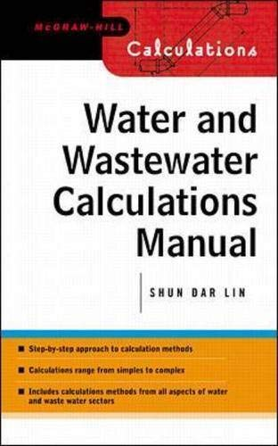 9780071371957: Water and Wastewater Calculations Manual