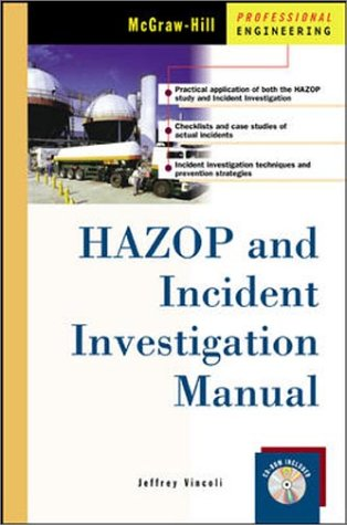 9780071371971: HAZOP and Incident Investigation Manual