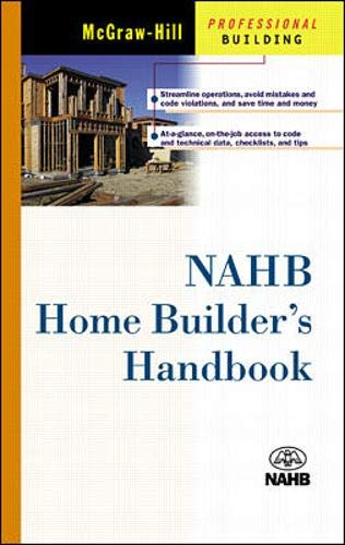 9780071372046: NAHB's Home Builder's Handbook