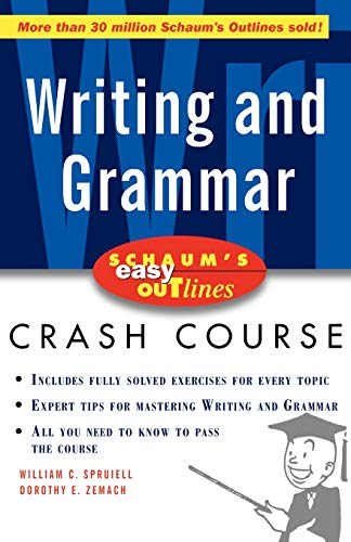 9780071372077: Schaum's Easy Outline of Writing and Grammar