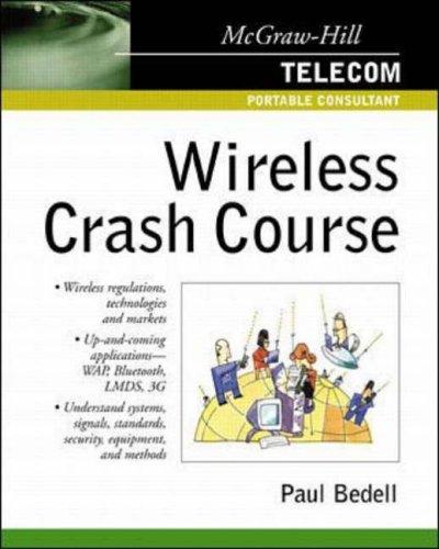 9780071372107: Wireless Crash Course (Telecom Portable Consultant)