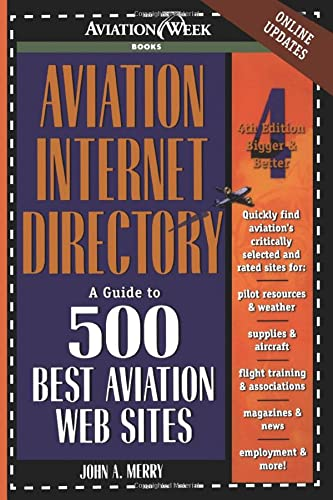 9780071372169: Aviation Internet Directory: A Guide to the 500 Best Web Sites