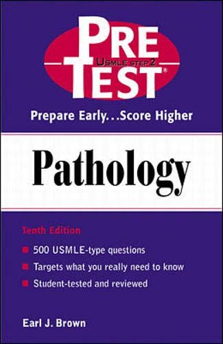 9780071372237: Pathology: PreTest Self-Assessment and Review