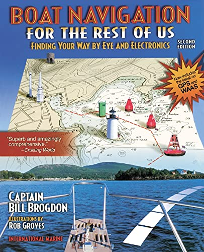 9780071372268: Boat Navigation for the Rest of Us: Finding Your Way By Eye and Electronics