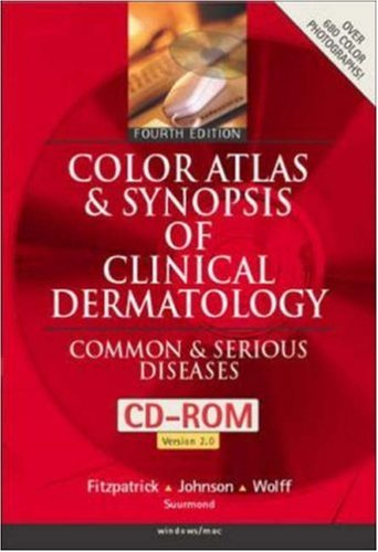 9780071372466: Color Atlas & Synopsis of Clinical Dermatology: Common & Serious Diseases (CD-ROM 2.0 for Windows & Macintosh)