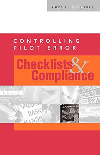 9780071372541: Controlling Pilot Error: Checklists & Compliance (Controlling Pilot Error Series)