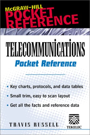 9780071372640: Telecommunications Pocket Reference