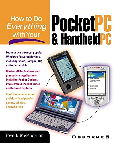 9780071373081: How to Do Everything With Your Pocket PC & Handheld PC