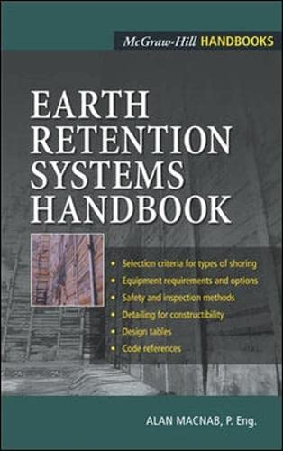 9780071373319: Earth Retention Systems Handbook (Mechanical Engineering)