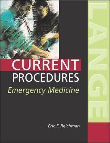 9780071373647: Pocket Atlas of Emergency Procedures (Current Procedures)