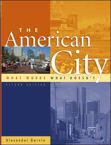 9780071373678: The American City : What Works, What Doesn't