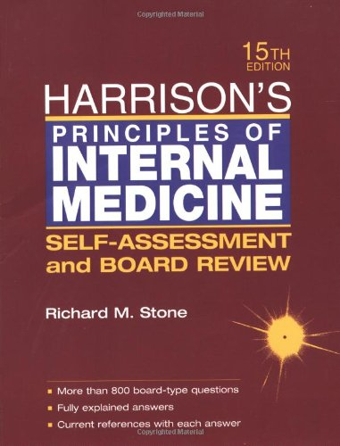 9780071373753: Harrison's Principles of Internal Medicine: Self-Assessment and Board Review
