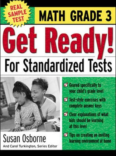 9780071374033: Get Ready! For Standardized Tests : Math Grade 3 (Get Ready for Standardized Tests Series)