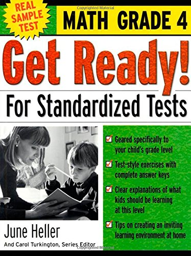 9780071374040: Get Ready! For Standardized Tests : Math Grade 4