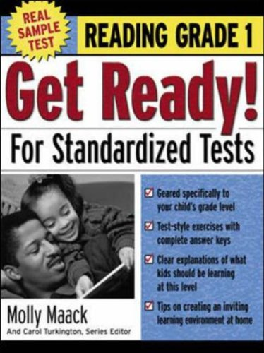 9780071374057: Get Ready! for Standardized Tests: Reading Grade 1: How to Help Your Kids Score High on Any Standardized Test