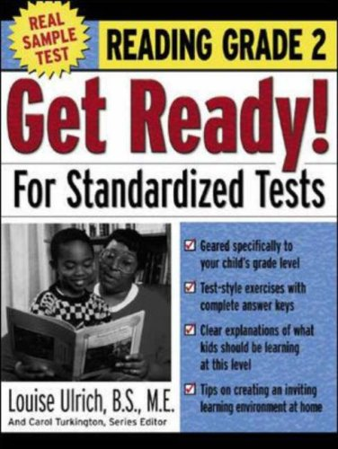 9780071374064: Get Ready! For Standardized Tests : Reading Grade 2