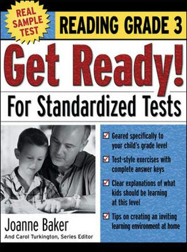 9780071374071: Get Ready! For Standardized Tests : Reading Grade 3 (Get Ready for Standardized Tests Series)