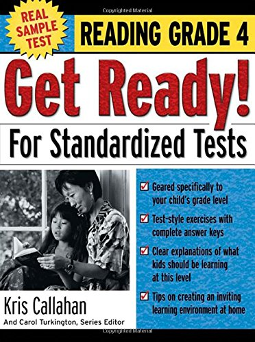 9780071374088: Get Ready! For Standardized Tests : Reading Grade 4