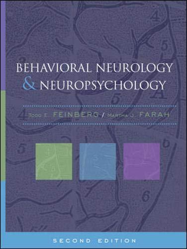 9780071374323: Behavioral Neurology and Neuropsychology